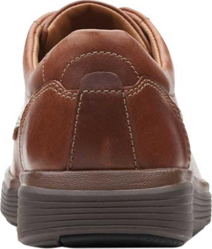 Men's Clarks Un Abode Ease Sneaker, Dark Tan Leather, large, image 3