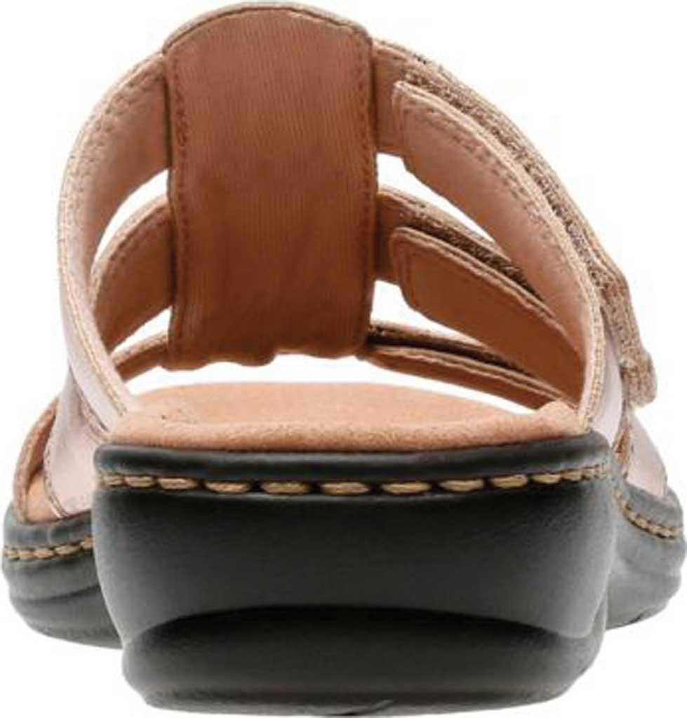 Women's Clarks Leisa Spring Strappy Sandal, Rose Gold Full Grain Leather, large, image 4