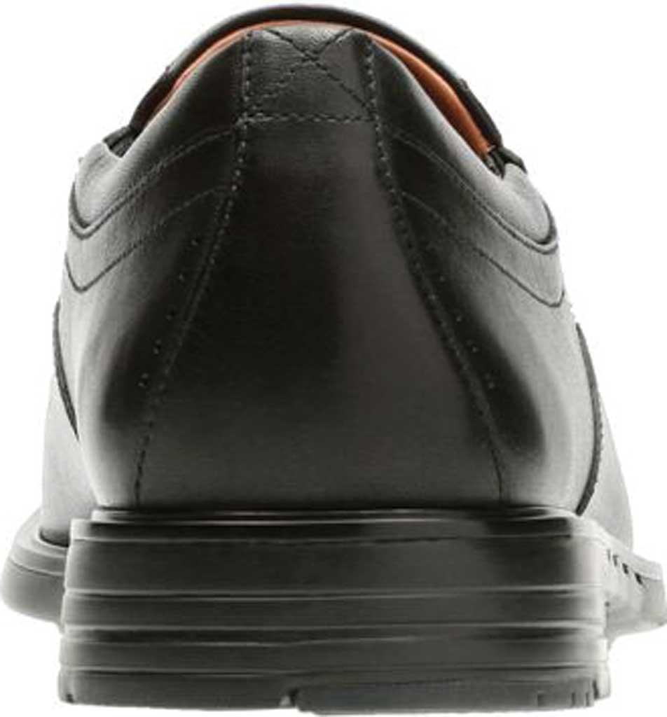 Men's Clarks Un Sheridan Go Loafer, Black Full Grain Leather, large, image 4