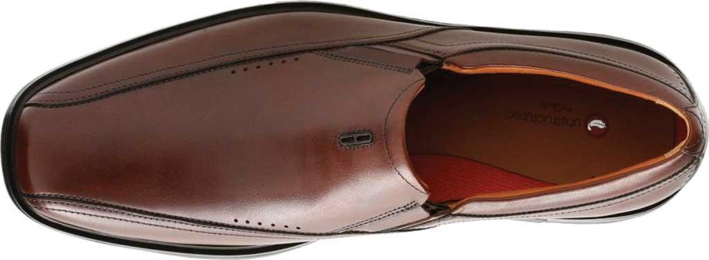 Men's Clarks Un Sheridan Go Loafer, Brown Full Grain Leather, large, image 4