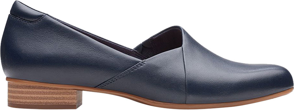 Women's Clarks Juliet Palm Loafer, Navy Leather, large, image 2
