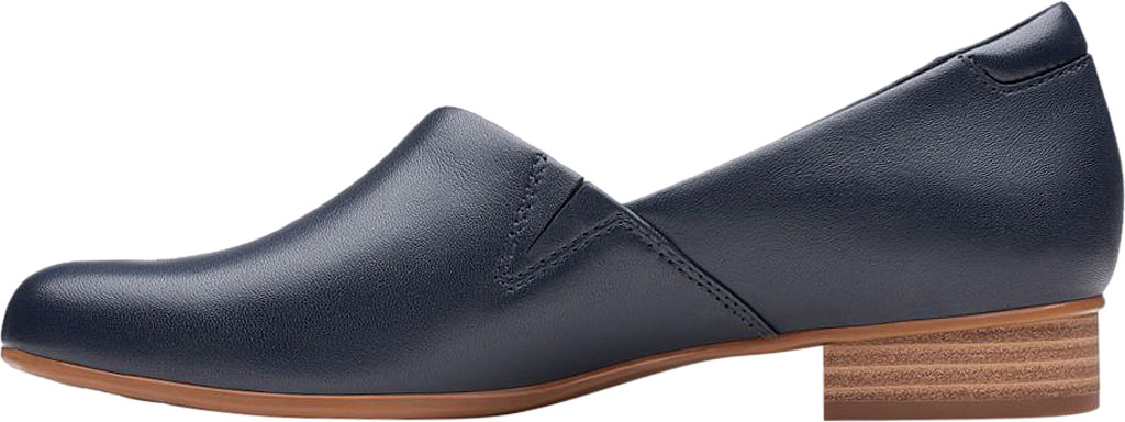 Women's Clarks Juliet Palm Loafer, Navy Leather, large, image 3