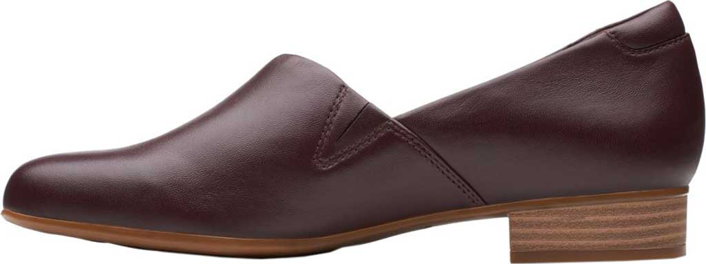 Women's Clarks Juliet Palm Loafer, Burgundy Leather, large, image 3