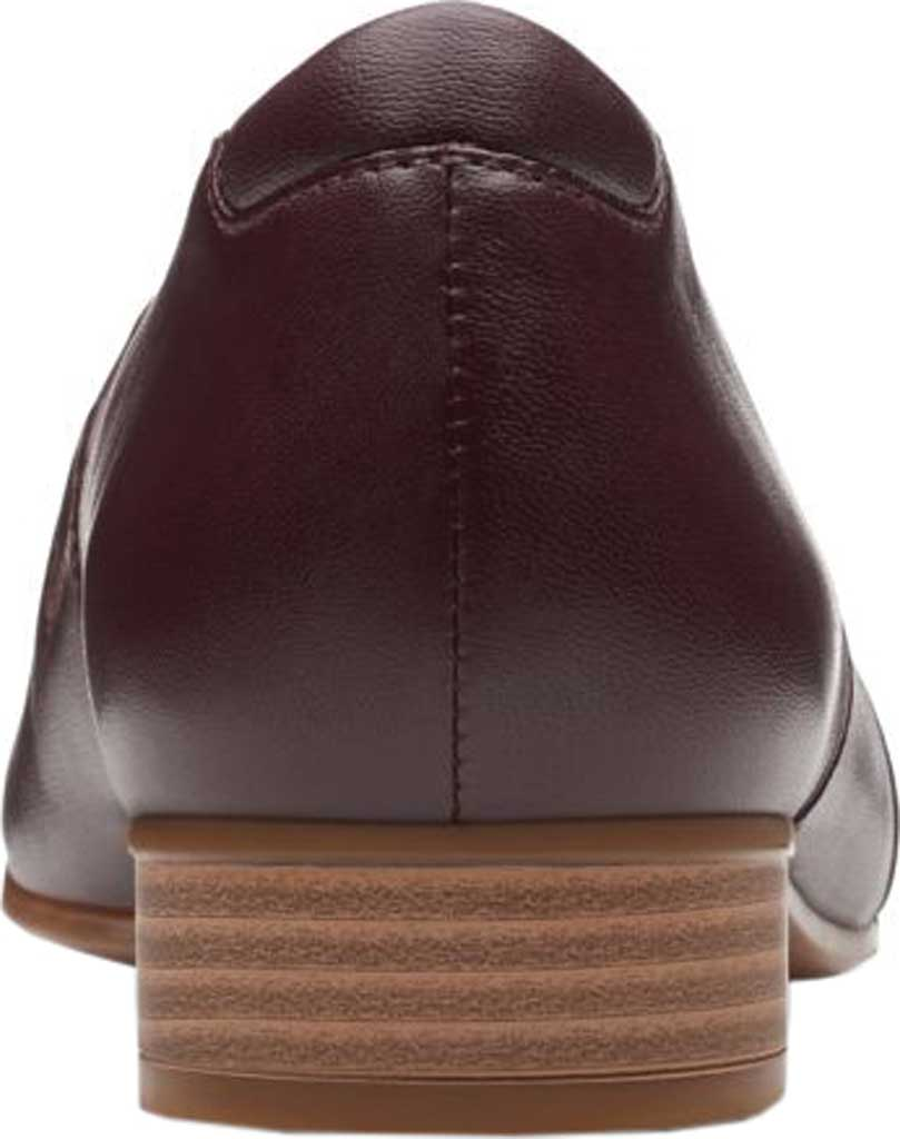 Women's Clarks Juliet Palm Loafer, Burgundy Leather, large, image 4