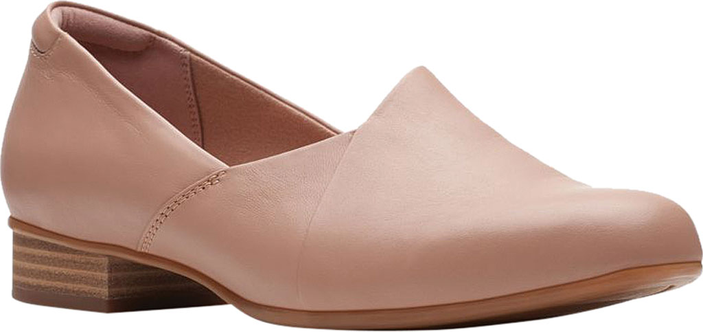 Women's Clarks Juliet Palm Loafer, Praline Leather, large, image 1