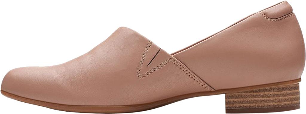 Women's Clarks Juliet Palm Loafer, Praline Leather, large, image 3
