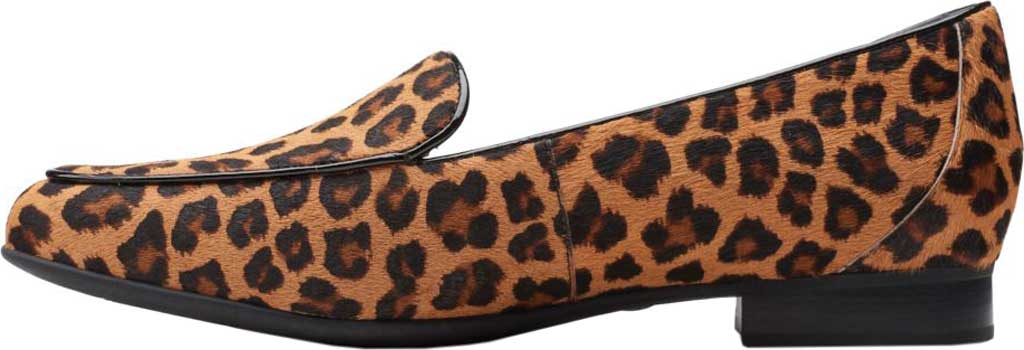 Women's Clarks Un Blush Ease Loafer, Leopard Pony Hair Leather II, large, image 3