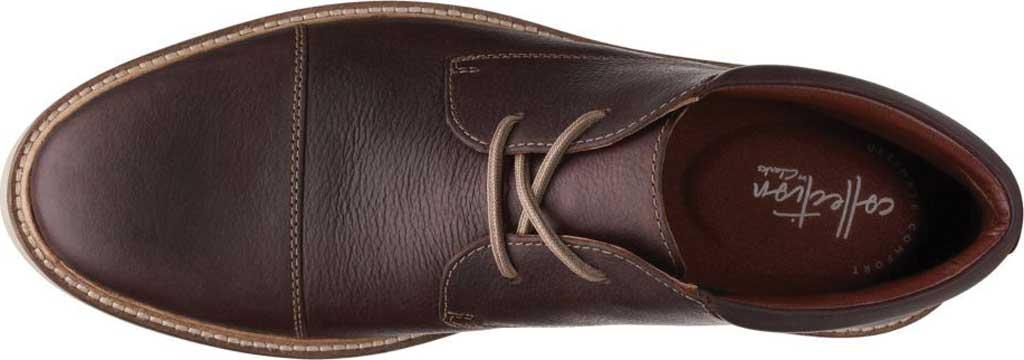 Men's Clarks Grandin Top Chukka Boot, Dark Brown Full Grain Leather, large, image 2