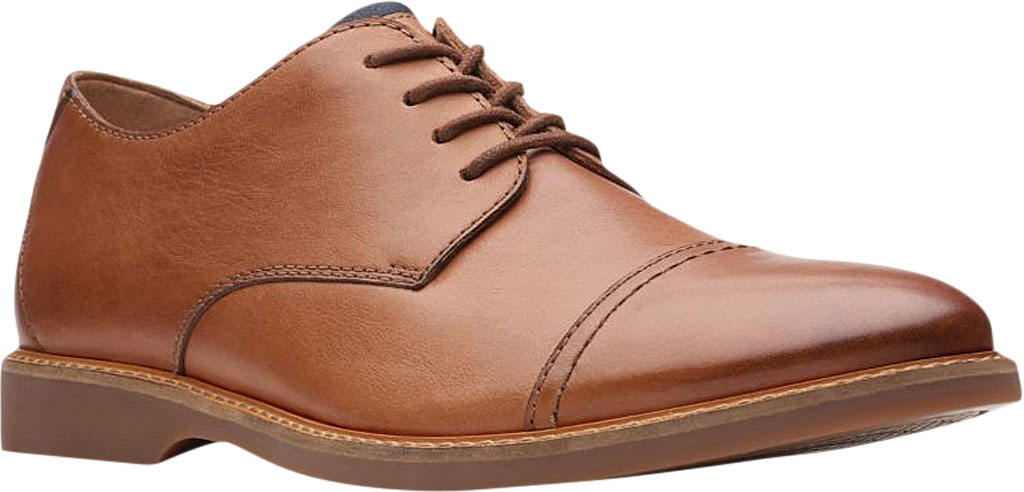 Men's Clarks Atticus Cap Toe Oxford, , large, image 1