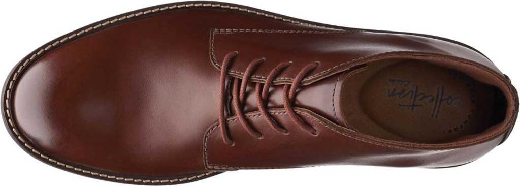 Men's Clarks Paulson Mid Chukka Boot, Mahogany Full Grain Leather, large, image 5