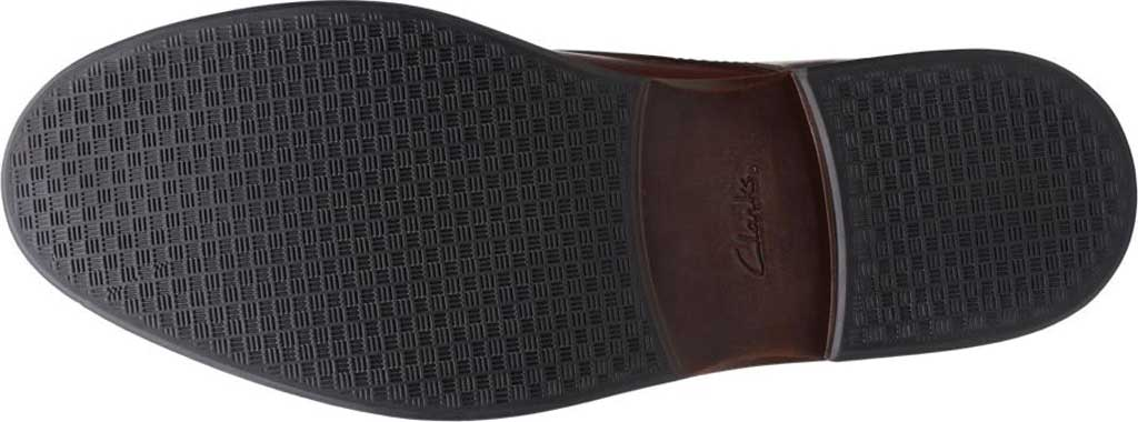 Men's Clarks Paulson Mid Chukka Boot, Mahogany Full Grain Leather, large, image 6
