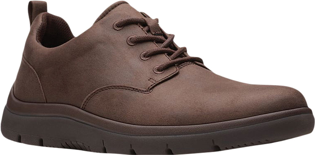 Men's Clarks Tunsil Lane Sneaker, Brown Synthetic, large, image 1