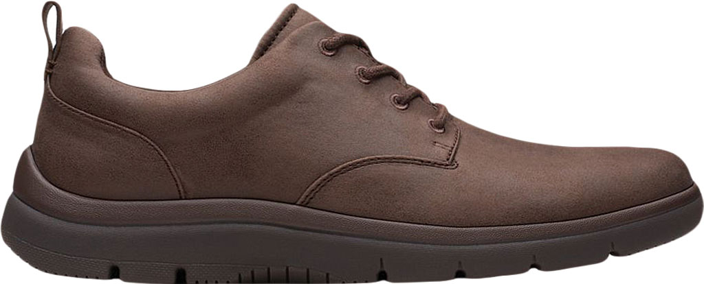 Men's Clarks Tunsil Lane Sneaker, Brown Synthetic, large, image 2
