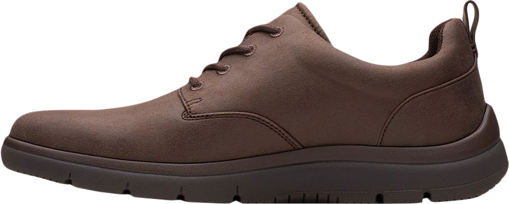 Men's Clarks Tunsil Lane Sneaker, Brown Synthetic, large, image 3