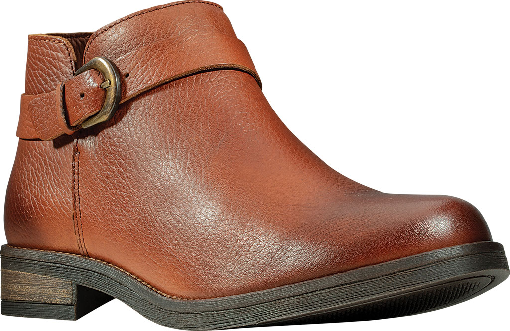 Women's Clarks Demi Tone Ankle Bootie, British Tan Leather, large, image 1