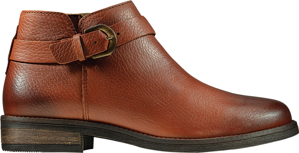 Women's Clarks Demi Tone Ankle Bootie, British Tan Leather, large, image 2