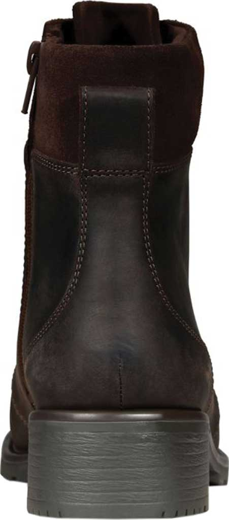 Women's Clarks Orinoco Spice Ankle Boot, Dark Brown Nubuck, large, image 4