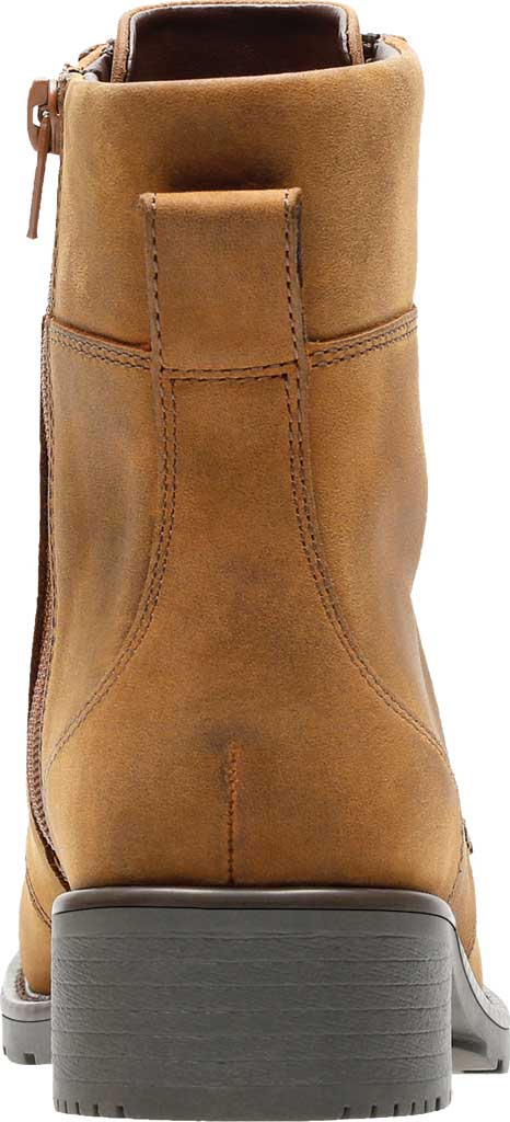 Women's Clarks Orinoco Spice Ankle Boot, Brown Snuff Full Grain Leather, large, image 4