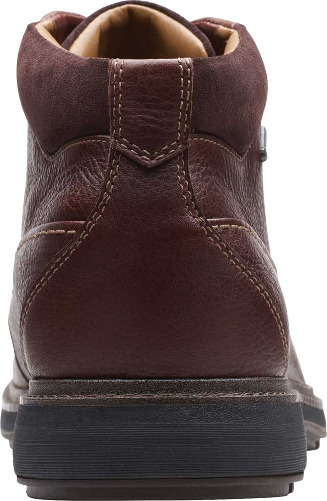 Men's Clarks Un Tread On GTX Boot, Dark Brown Leather, large, image 4