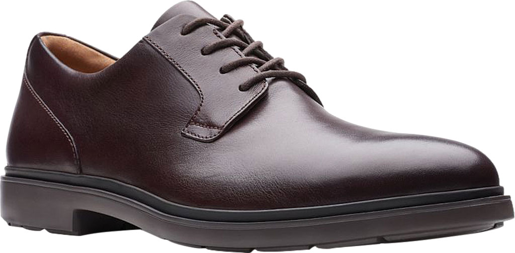 Men's Clarks Un Tailor Tie Plain Toe Oxford, , large, image 1