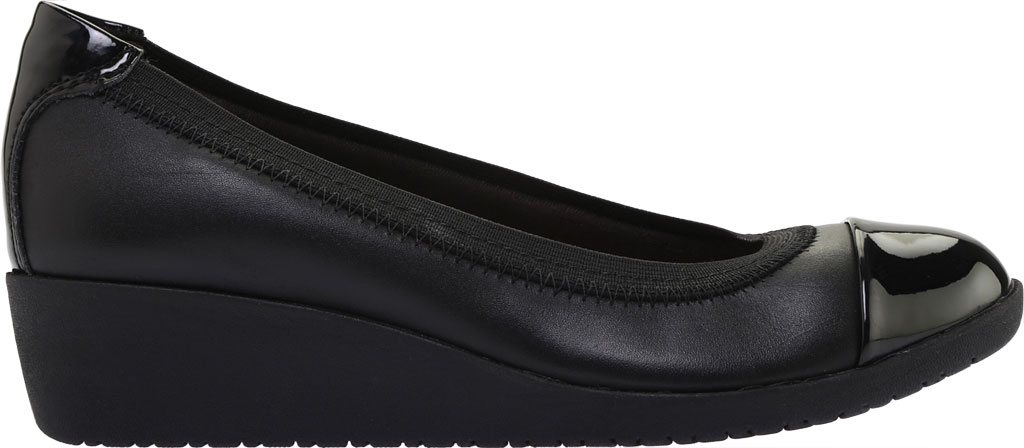 Women's Clarks Elin Palm Wedge Heel, , large, image 2