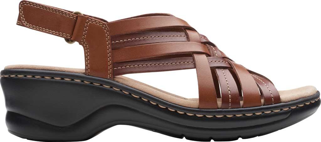 Women's Clarks Lexi Carmen Slingback Sandal, Tan Full Grain Leather, large, image 2