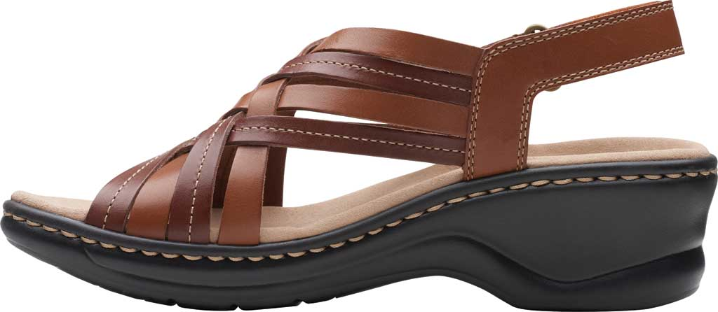 Women's Clarks Lexi Carmen Slingback Sandal, Tan Full Grain Leather, large, image 3