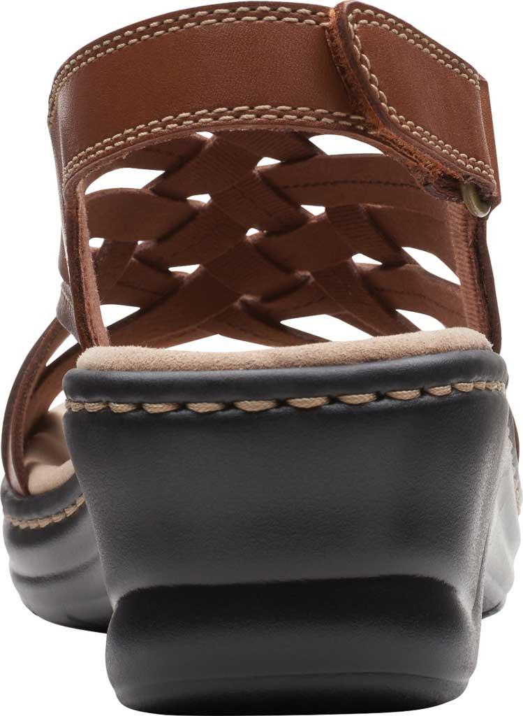 Women's Clarks Lexi Carmen Slingback Sandal, Tan Full Grain Leather, large, image 4
