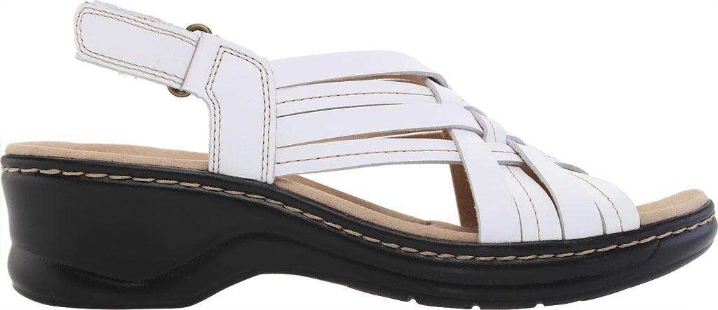 Women's Clarks Lexi Carmen Slingback Sandal, White Full Grain Leather, large, image 2