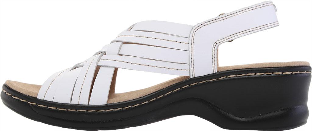 Women's Clarks Lexi Carmen Slingback Sandal, White Full Grain Leather, large, image 3