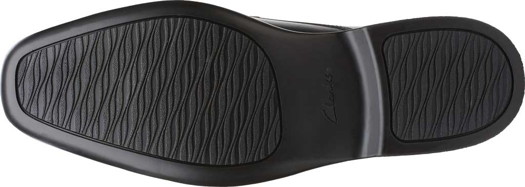 Men's Clarks Bensley Lace Oxford, Black Full Grain Leather, large, image 6