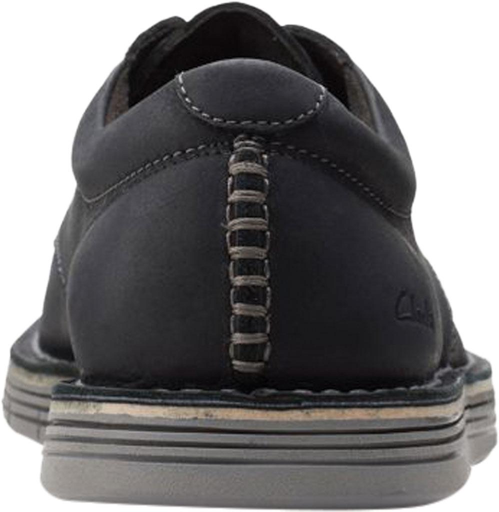Men's Clarks Forge Vibe Oxford, Black Full Grain Leather, large, image 4