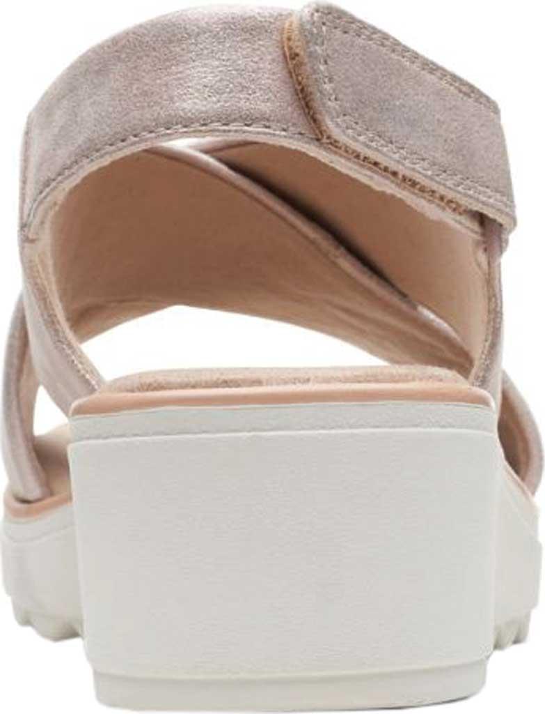 Women's Clarks Jillian Jewel Slingback Sandal, Lavender Metallic Smooth Leather, large, image 4