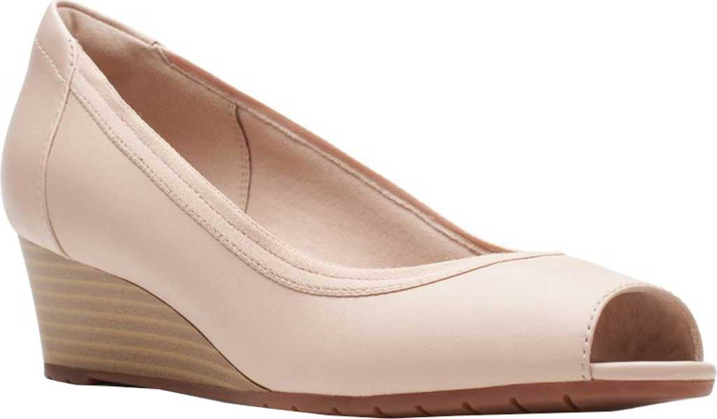 Women's Clarks Mallory Charm Wedge Pump, , large, image 1