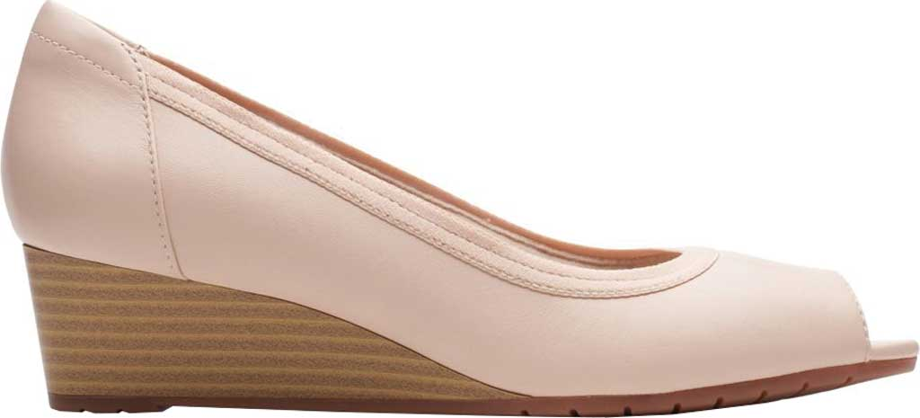 Women's Clarks Mallory Charm Wedge Pump, , large, image 2