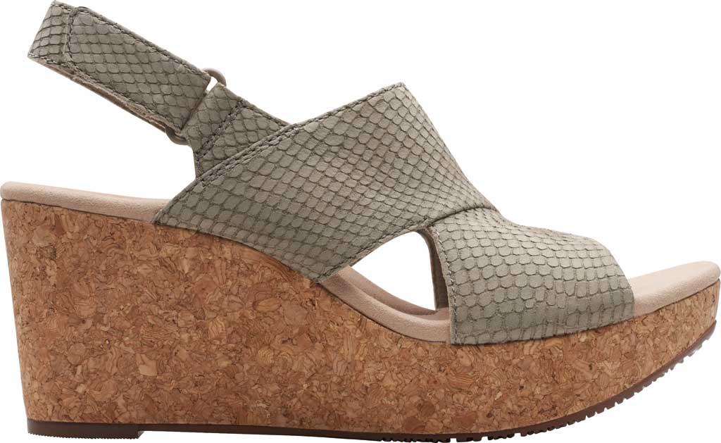 Women's Clarks Annadel Sky Wedge Sandal, , large, image 2