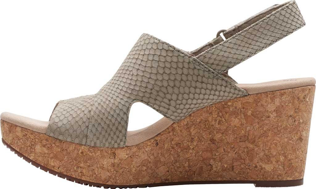 Women's Clarks Annadel Sky Wedge Sandal, , large, image 3