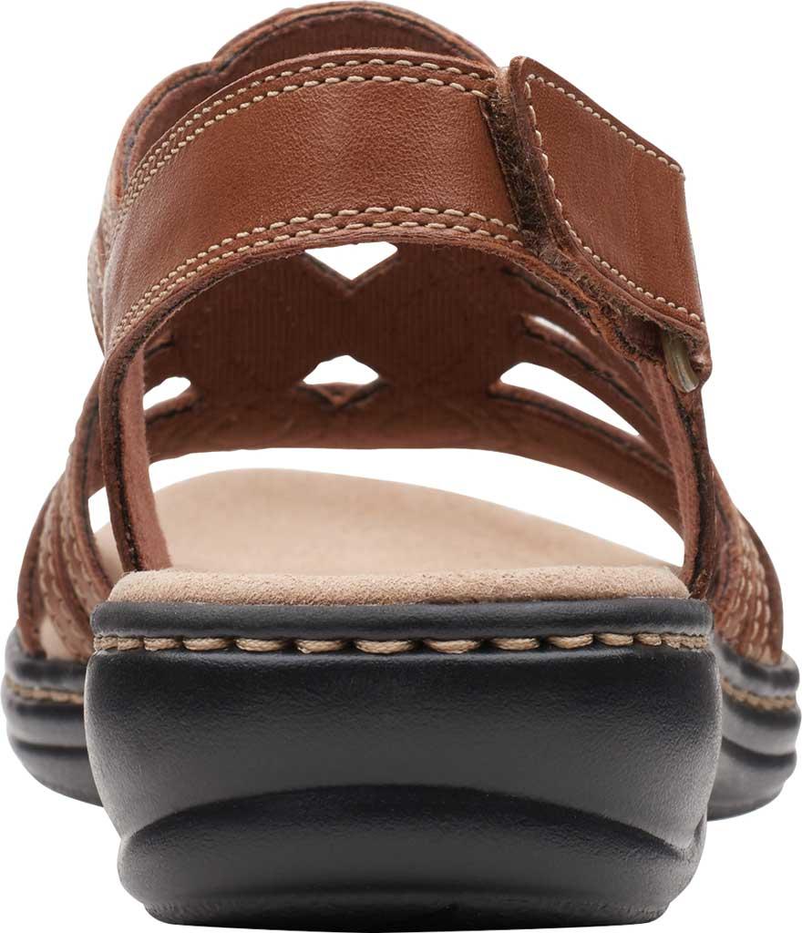 Women's Clarks Leisa Janna Slingback Sandal, Tan Leather, large, image 4