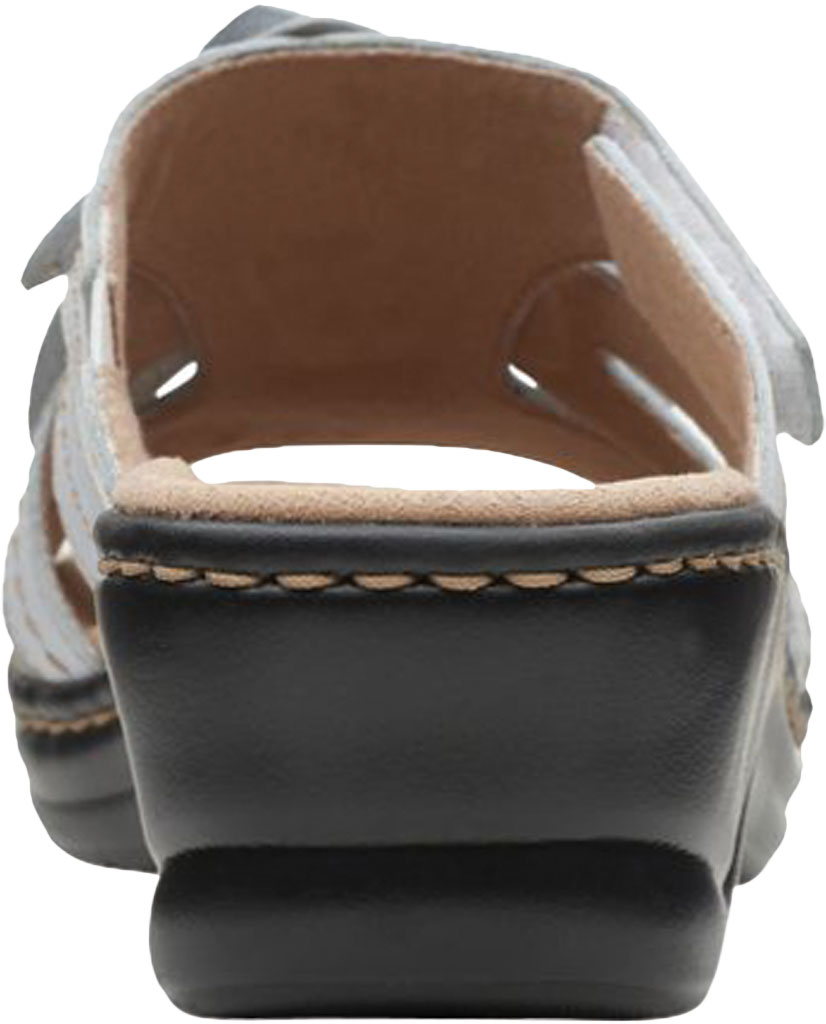 Women's Clarks Lexi Opal Slide, White Full Grain Leather, large, image 4