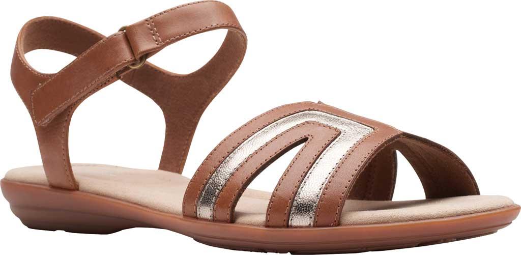 Women's Clarks Ada Mist Adjustable Strap Sandal, , large, image 1