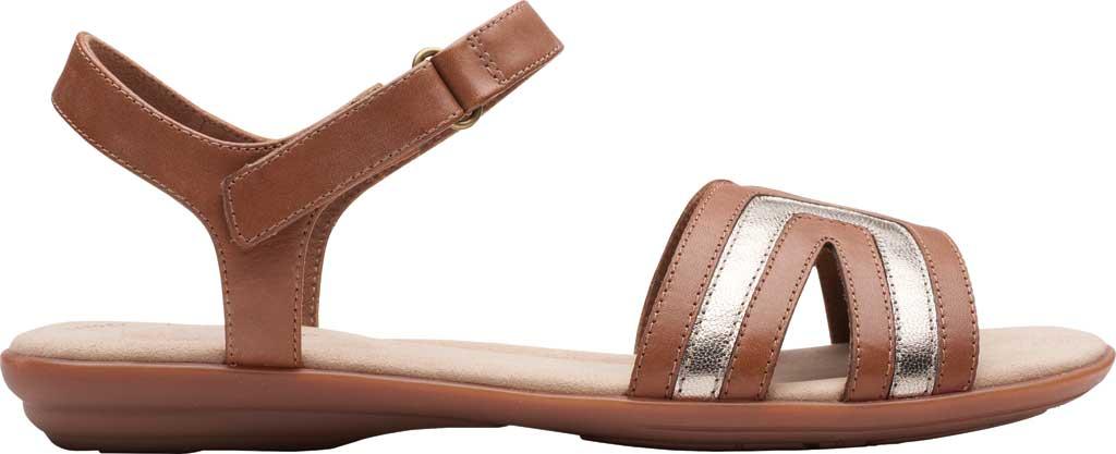 Women's Clarks Ada Mist Adjustable Strap Sandal, , large, image 2