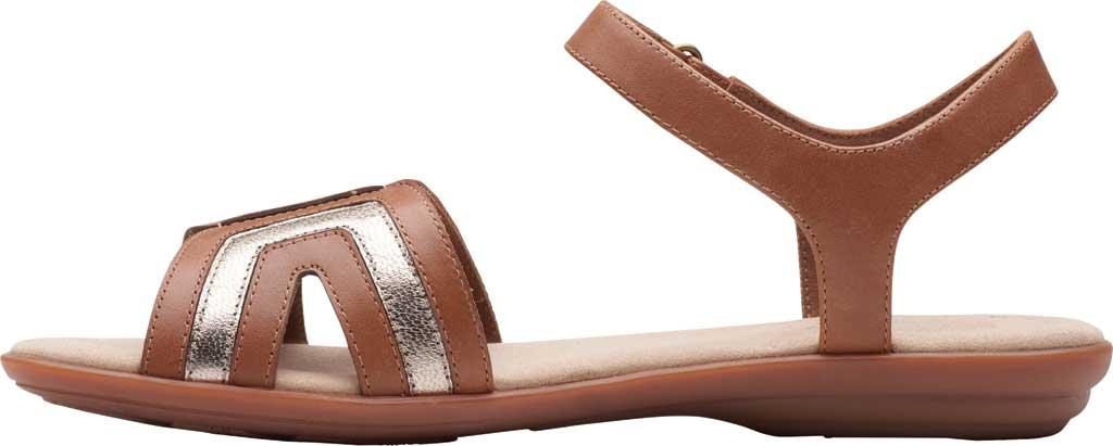 Women's Clarks Ada Mist Adjustable Strap Sandal, , large, image 3