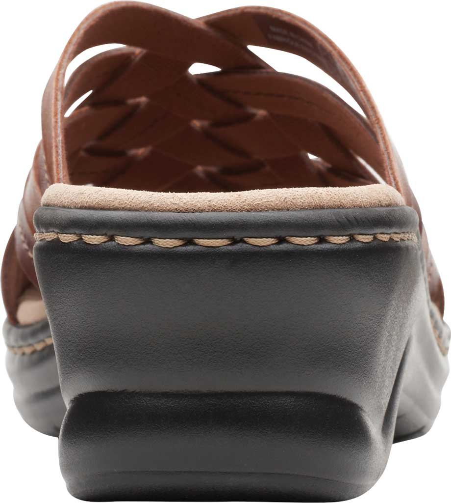 Women's Clarks Lexi Selina Slide, Mahogany Full Grain Leather, large, image 4