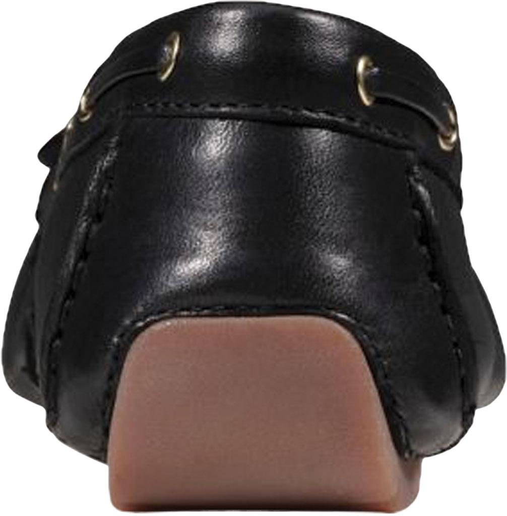 Women's Clarks C Mocc Boat Shoe, Black Full Grain Leather, large, image 4