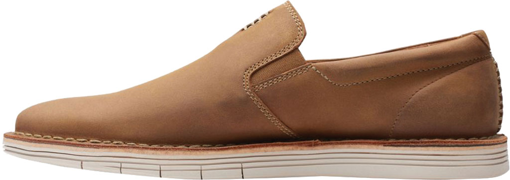 Men's Clarks Forge Free Loafer, Tan Leather, large, image 3
