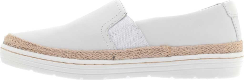 Women's Clarks Marie Sail Slip On Sneaker, White Leather, large, image 3