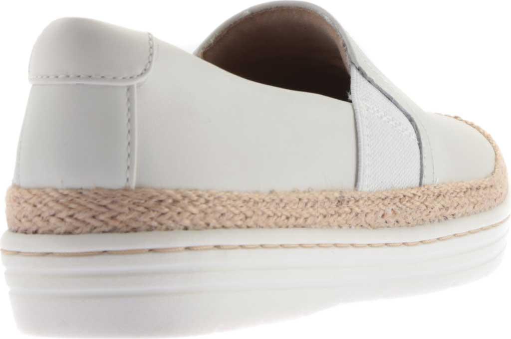 Women's Clarks Marie Sail Slip On Sneaker, White Leather, large, image 4