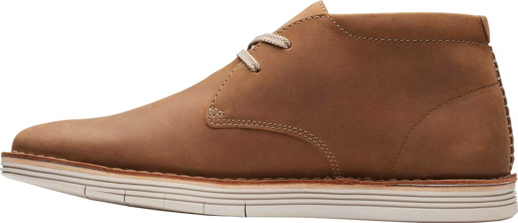 Men's Clarks Forge Stride Chukka Boot, Tan Leather, large, image 3