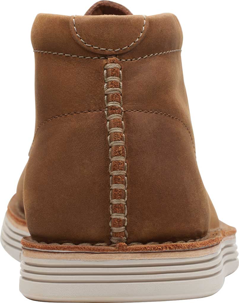Men's Clarks Forge Stride Chukka Boot, Tan Leather, large, image 4