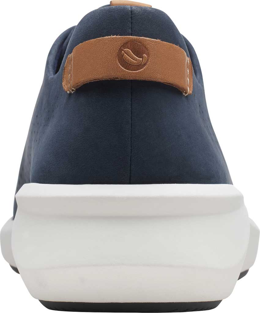 Women's Clarks Un Rio Tie Sneaker, Navy Nubuck, large, image 4